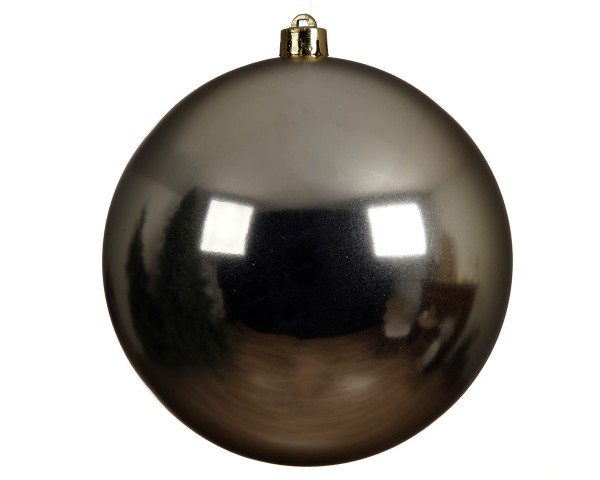 Weihnachten Kae KUGEL bruchfest glanz, dia20cm Champagner