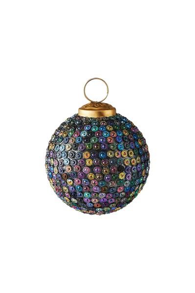 Weihnachten Gift SEOUL Weihnachtskugel, D7 m/ kl. Steinen bunt