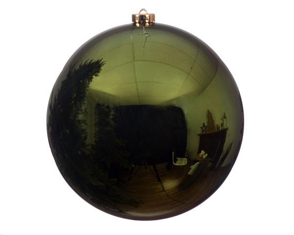 Christbaumkugeln OUTDOOR – bruchfest – D20cm piniengrün