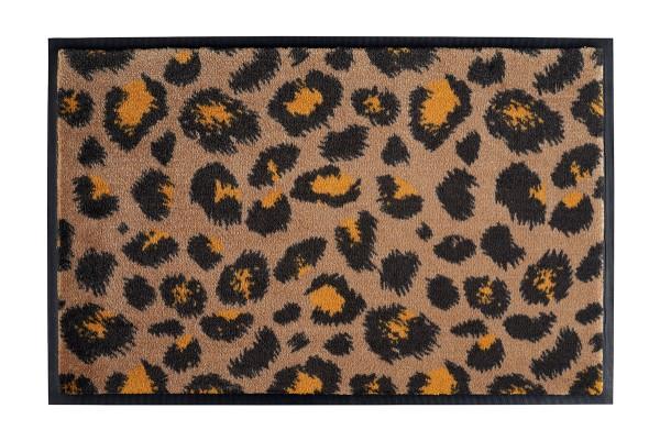 Fußmatte Gift C. WASHABLES 75x50, Leo