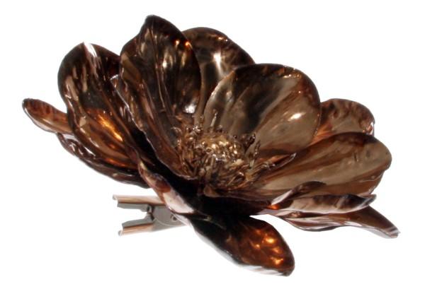 ShiShi ANEMONE m/ Clip, gealterte Bronze 12cm
