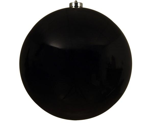 Weihnachten Kae KUGEL bruchfest glanz, dia20cm schwarz
