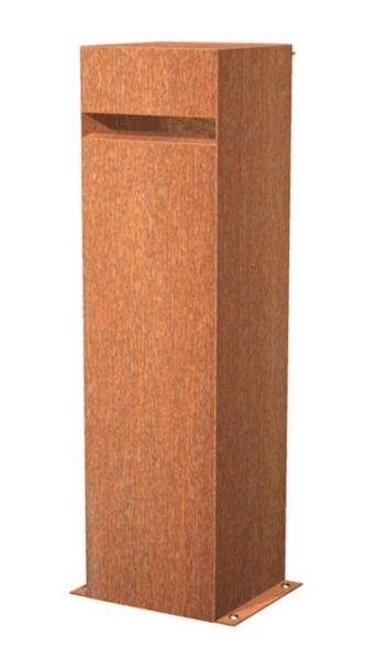 Briefkasten CorTen Stahl
