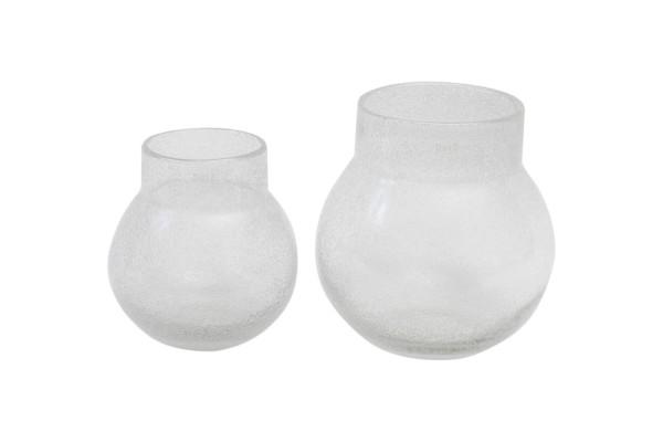 Vase Dutz BREB VASE clear bubbles