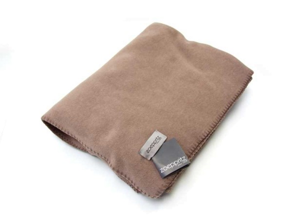 Zoeppritz Fleecedecke SOFT FLEECE, smoke 160x200cm