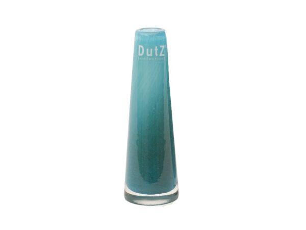 DutZ Vase SOLIFLEUR H15 Ø5cm blue petrol