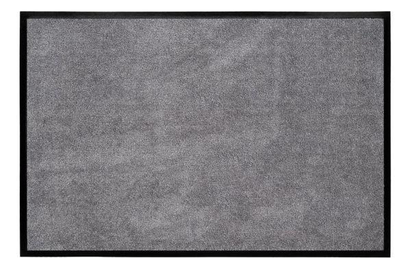 Graue FUßMATTE aus Kunstfaser von Gift Company WASHABLES 75x50cm